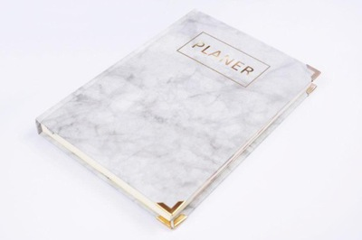 Okucia srebrne złote do kalendarza notesu księgi