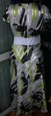 ,,'sliczna sukienka super kroj r 40-44 ,gratis ko