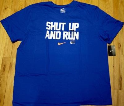 NIKE AIR  T-Shirt XXXL niebieski z USA100%Org