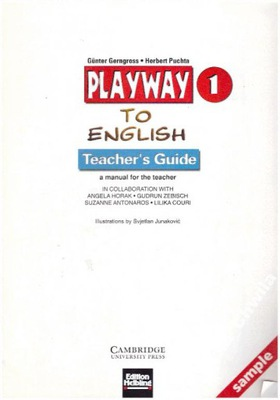Playway to English 1 Teacher's Guide NOWY Book