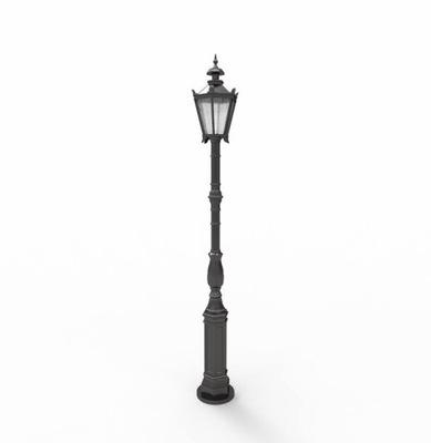 Pouličná lampa SVETLO liatiny vonkajšie OSVETLENIE