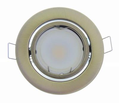 LAMPY MEDAILISTA STRECHY MOSADZ 1W LED