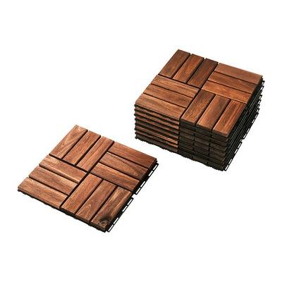 IKEA RUNNEN platformu dif tvrdého dreva, agátový