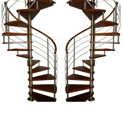 Лестница Вьющиеся КОРА модель Бавария вертикаль 140 см