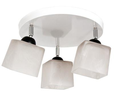 Svietidlá stropné svietidlá - Lampa sufitowa / wisząca CUBO 3 koło - można LED