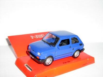ПНР МАЛЫШ МАЛЕНЬКИЙ Fiat 126p темно-синий Welly 1 :34