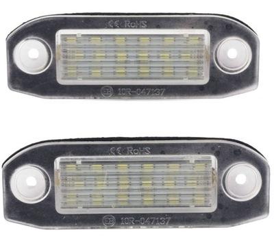 VOLVO XC60 XC70 XC90 LED PODŚWETLENIE TABLICY kpl