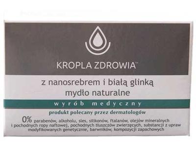 Kropla Zdrowia Naturalne mydło z nanosrebrem 100g