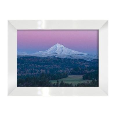 Фото-картина Пейзаж с горой в раме пейзаж горный
