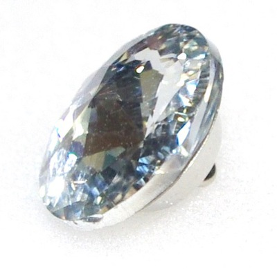 пуговицы ОБИВОЧНЫЕ хрустальные 18 ММ кристалл
