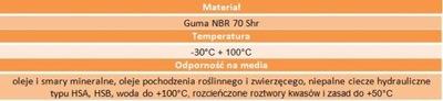Oring uszczelka 99x2 70NBR