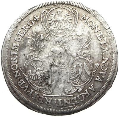 + Нюрнберг - Доллар 1637 - Фердинанд III - серебро