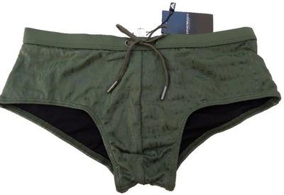 78553d4d4156c8 ... CAVALLI granatowe 50 L. Spodenki kąpielówki slipy ARMANI zielone M nowe