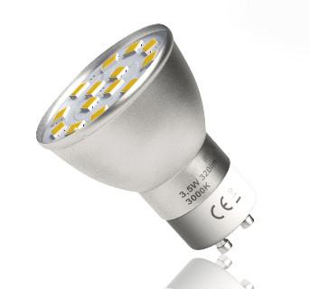 Mała żarówka LED GU11 4W 35mm neutralna LEDisON