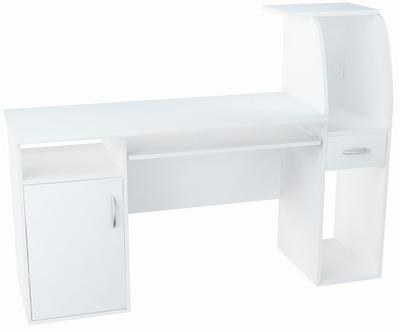 Письменный стол, шкаф B3 белое 150см книжный шкаф комод полка