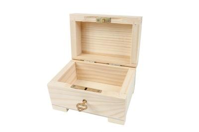 Шкатулка СУНДУЧОК коробка Ключ запираемый СУНДУК