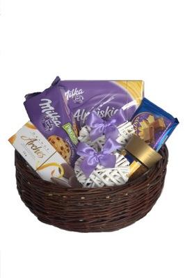 Корзина с подарками Корзина Подарок Корзина сладости