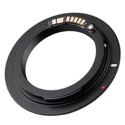 Adapter M42 Canon EOS potwierdzenie ostrości GRATI