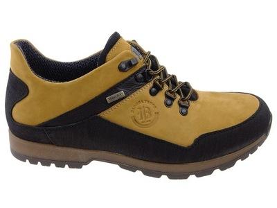 Badura półbuty trekking 3141 żółte SYMPATEX 44