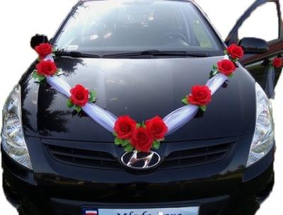 Dekoracja Samochodu Do ślubu Allegropl