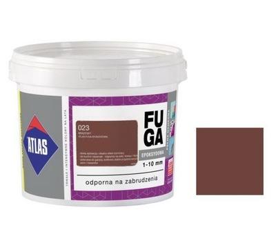 ATLAS EPOXIDOVÁ škárovacia HMOTA, 5 kg - HNEDÁ, 023 brown - HIT