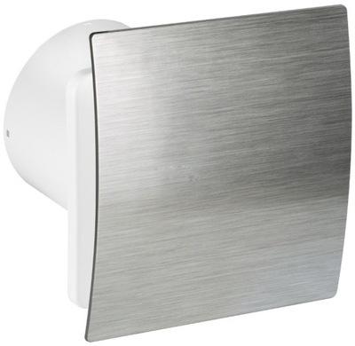 Вентилятор Silent ESCUDO 100 серебро ГИГРОСТАТ