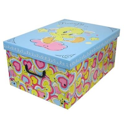 коробка на игрушки ТВИТОВ СВЕТЛЫЙ Синий
