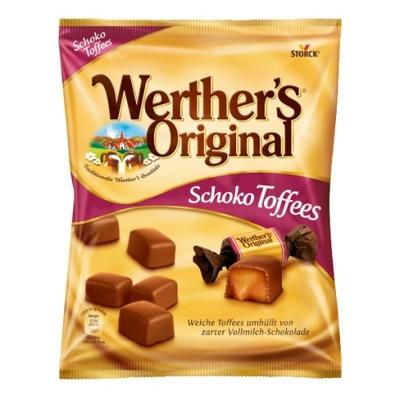 Werthers Original Schoko Toffees с карамелью 180г