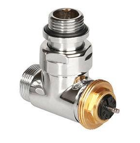 """Uhol 1/2 """"termostatický ventil CHROM POLETTI"""