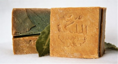 Мыло Алеппо лавровый лист 55 %  - 40 % !
