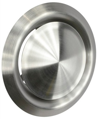 Anemostat ventil vetranie 160 mm CHROME