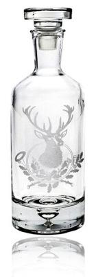 Decanter pre whisky, brandy, darček pre poľovníka (2)