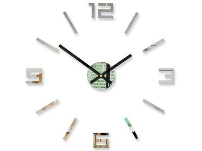 БОЛЬШОЙ часы настенный АРАБИ 3D DIY зеркало 50cm