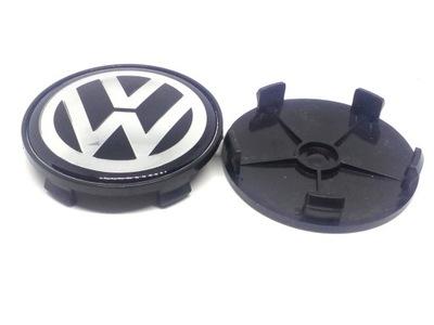 VOLKSWAGEN VW Zaślepka 68mm czarny Dekielek Kapse