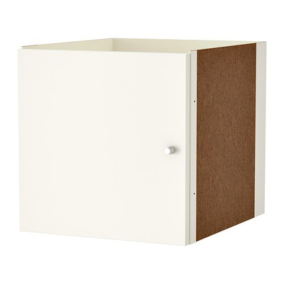 IKEA príspevok s KALLAX biele dvere kurier24