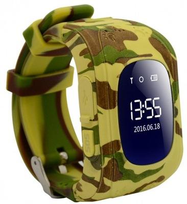 Sledujte KAMUFLÁŽ vojenské Smartwatch GPS lokátor