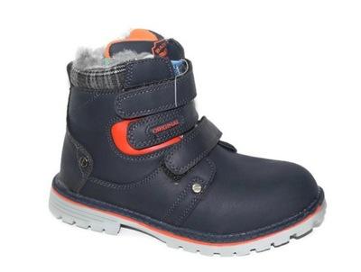 Trapery kozaki botki r37 chłopięce buty Wojtuś