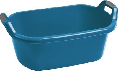 Lavór, vanička - Miska owalna 55l z uchwytami Curver niebieska