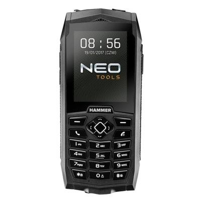 Stavebné rádio -  TELEFON HAMMER 2000mAh DUAL SIM NEO NÁSTROJE 84-002