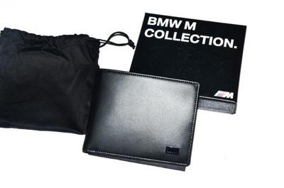 95a724bcd7a96 ... kieszenią na monety ORYGINAŁ. Portfel skórzany BMW ///M M2 M3 M4 M5 M6  Prezent