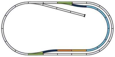комплект torowy C , Piko 55320