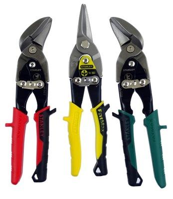 Стэнли ножницы для листа, КОМПЛ.3 шт Левое ,Правое ,Просто