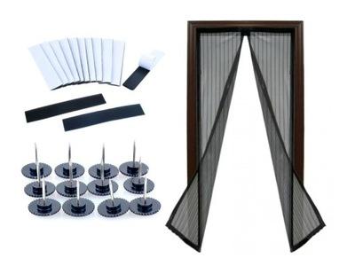 Москитная сетка Сетка двери С МАГНИТОМ 210X100cm