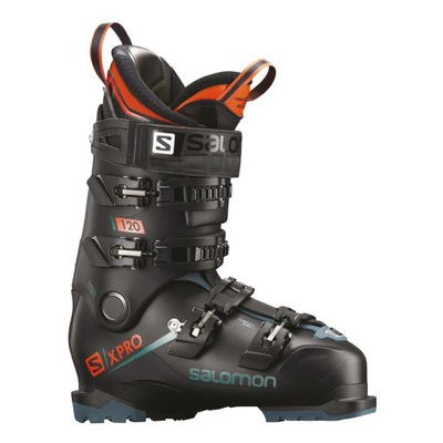 Juniorskie buty narciarskie SALOMON SMAX 60T M BLACKAcid