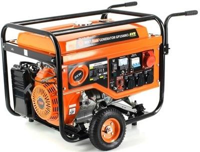 Najlepšie GP5500K3 benzín, generátor AVR