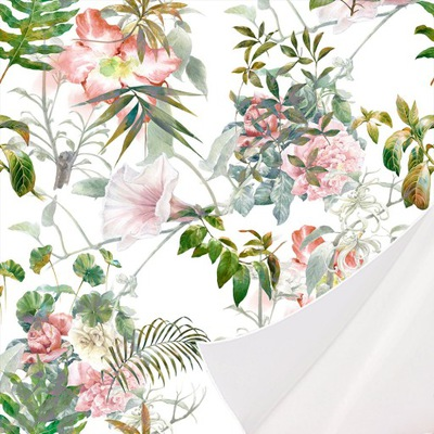 ОБОИ самоклеющаяся цветы ЛИСТ 10 B -B -0318-j-