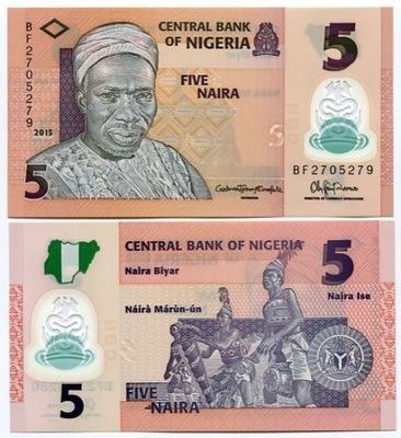 Нигерия 5 наира 2014/15 P-38