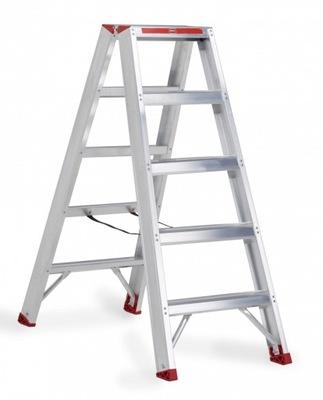 Лестницы лестница алюминиевая двусторонняя 2x5 ALTREX