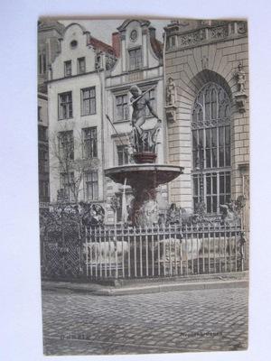 Gdańsk Danzig Neptun 1908