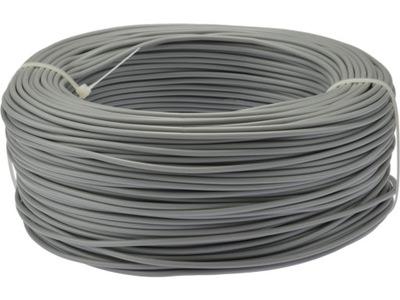 Kábel, drôt, flexibilný kábel LGY 2,5mm2 sivá 100 m